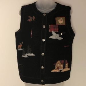 Woolrich • Wool Winter Holiday Woodland Vest